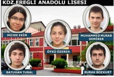 TARİH ŞAMPİYONU ANADOLU LİSESİ