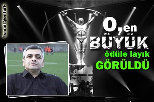 ŞENTÜRK'E MİLLİ ONUR
