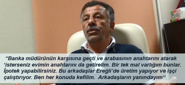 CANDAN'A TEŞEKKÜR ETTİ