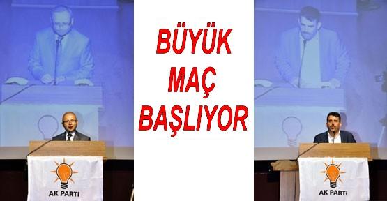 SİYASİ MAÇ BAŞLIYOR !..