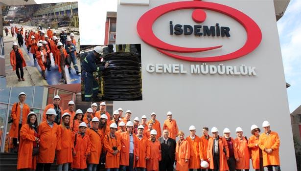 ERDEMİR, İSDEMİR'İ TANITTI..!