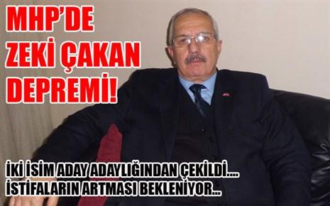 MHP'DE İSTİFA DEPREMİ..!