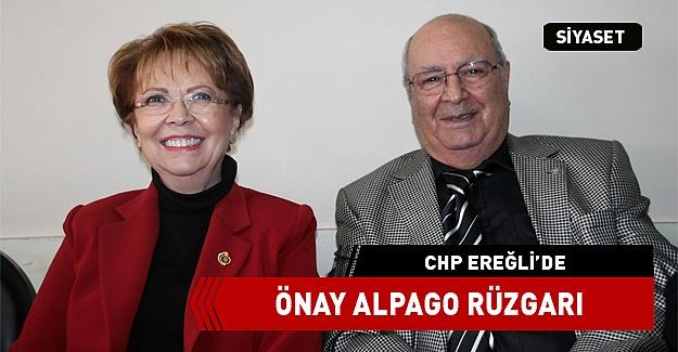 EREĞLİ'DE ÖNAY ALPAGO RÜZGARI ESTİ..!