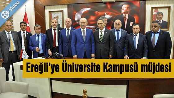ÇELİK MÜJDELER VERDİ..!
