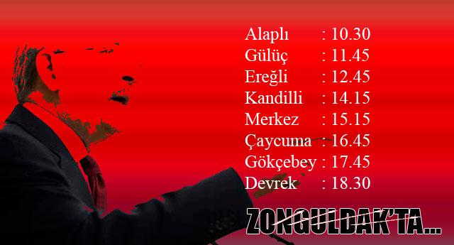 CHP LİDERİ GELİYOR..!