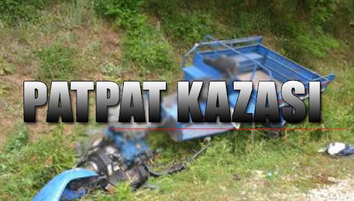 Kdz Ereğli'de patpat kazası…