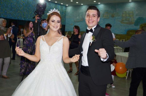 Kıdemli Başçavuş'un oğlu evlendi.